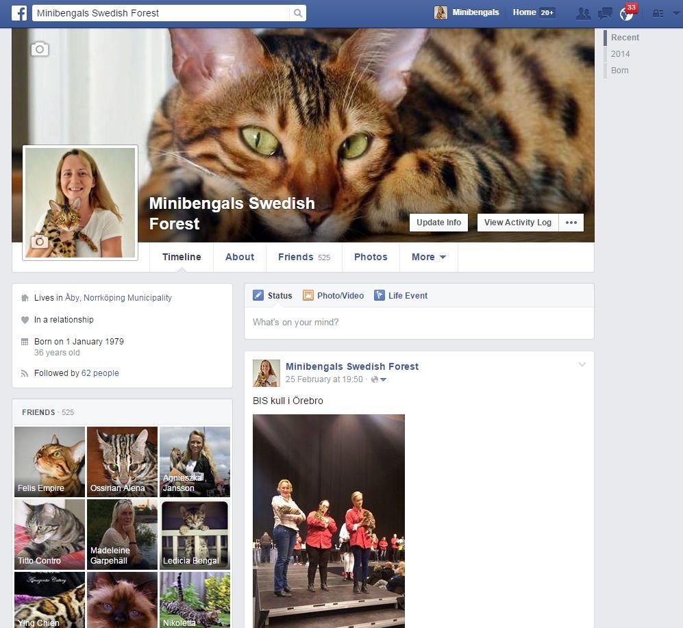 facebook sida minibengals swedisg forest